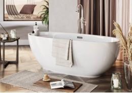 Акрилова ванна KIVI біла, 165 x 75 см
