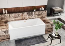 Прямокутна ванна APRI, 140 x 70 см