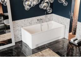Прямокутна ванна ELZA, 160 x 75 см