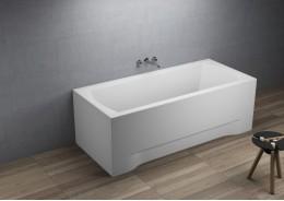 Прямокутна ванна INES, 160 x 75 см