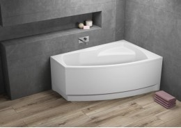 Кутова ванна FRIDA 1 права, 140 x 80 см