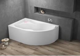 Кутова ванна DORA ліва, 170 x 110 см