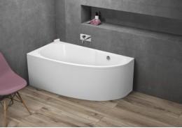 Кутова ванна MIKI ліва, 140 x 70 см