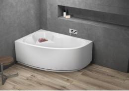 Кутова ванна NOEL ліва, 140 x 80 см