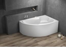 Кутова ванна MEGA права, 160 x 105 см