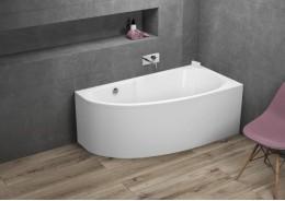 Кутова ванна MIKI права, 140 x 70 см