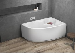 Кутова ванна NOEL права, 140 x 80 см