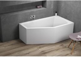 Кутова ванна SELENA права, 150 x 90 см