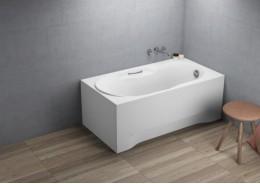 Прямокутна ванна LUX, 140 x 75 см