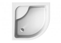Душовий піддон PAKO високий білий, 80 x 80 х 39,5/24 см