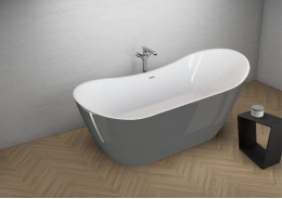 Акрилова ванна ABI графітова, 180 x 80 см