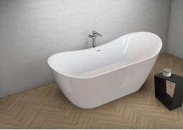 Акрилова ванна ABI сіра, 180 x 80 см