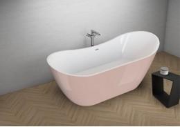 Акрилова ванна ABI рожева, 180 x 80 см