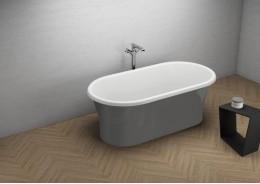Акрилова ванна AMONA NEW графітова, 150 x 75 см