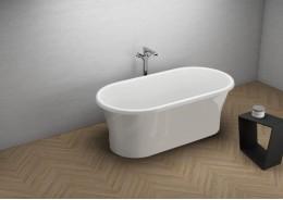 Акрилова ванна AMONA NEW сіра, 150 x 75 см