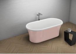Акрилова ванна AMONA NEW рожева, 150 x 75 см