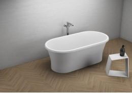 Акрилова ванна AMONA NEW біла, 150 x 75 см