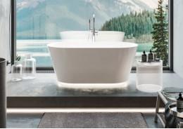 Композитна ванна IDA біла, 150 x 75 см