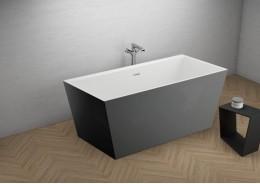 Акрилова ванна LEA графітова, 170 x 80 см