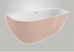 Акрилова ванна RISA рожева, 170 x 80 см