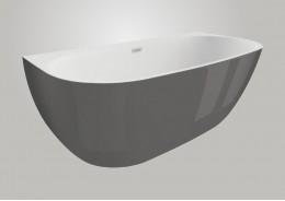 Акрилова ванна RISA графітова, 160 x 80 см
