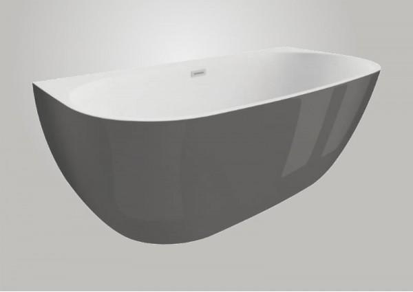 Акрилова ванна RISA графітова, 170 x 80 см