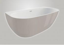 Акрилова ванна RISA сіра, 170 x 80 см