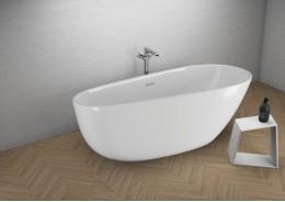 Акрилова ванна SHILA біла, 170 x 85 см