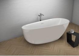 Акрилова ванна SHILA сіра, 170 x 85 см