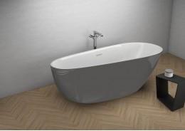 Акрилова ванна SHILA графітова, 170 x 85 см
