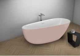 Акрилова ванна SHILA рожева, 170 x 85 см