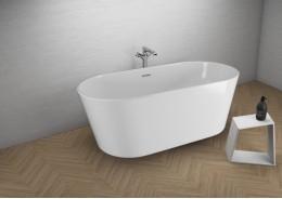 Акрилова ванна UZO біла, 160 x 80 см