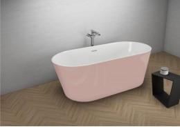 Акрилова ванна UZO рожева, 160 x 80 см