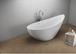 Акрилова ванна ZOE біла, 180 x 80 см