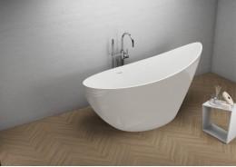 Акрилова ванна ZOE сіра, 180 x 80 см