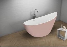Акрилова ванна ZOE рожева, 180 x 80 см
