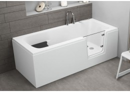 Акрилова ванна з дверцятами AVO, 150 x 75 см