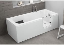 Акрилова ванна з дверцятами AVO, 160 x 75 см